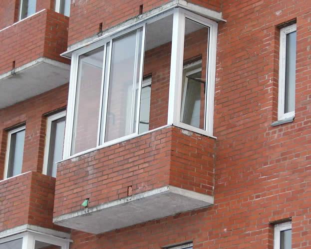 """Компания """"апс"""" - услуги - наружнаЯ отделка балконов и лоджий."""